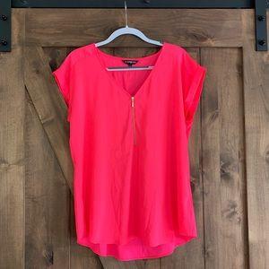Express Neon Pink Blouse
